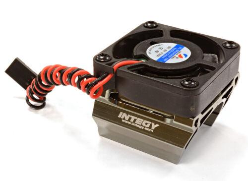 C25861GREY Integy High Speed Cooling Fan+Heatsink Mount for 28mm O.D Motor