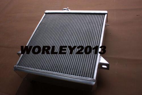 3 core aluminum radiator fan for Triumph TR6 1975 1976
