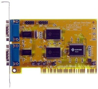 Generoso Pci Multi I/o Card 2s Sun1889 Id3952 Pnp- Merci Di Convenienza