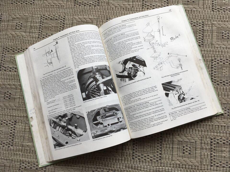Volvo 343 345 1976-81, Haynes Workshop Manual