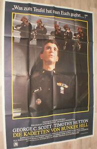 A0 Filmplakat  DIE KARDETTEN VON BUNKER HILL,GEORGE C: SCOTT,TIMOTHY HUTTON
