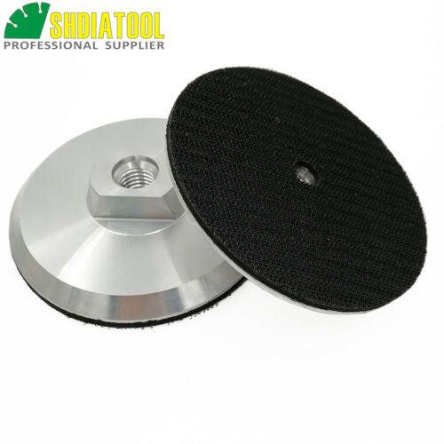 1pc 4inch Aluminum Base Backer Pad for Diamond Polishing Pads 100MM for Grinder