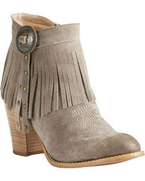 Women's Ariat Unbridled Avery Suede Short Boot Style 10021284 FREE SHIP