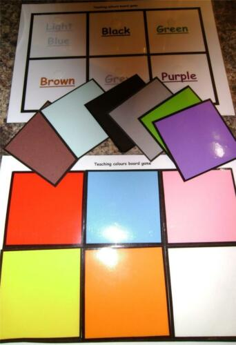 EYFS Special Needs /'Colours Board Game/' available in several variations