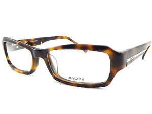 63109bd6fc POLICE +0.25 to +3.5 Designer Reading Glasses Brown Havana V1696 ...