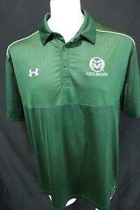39126428 CSU BANDS Colorado State University Rams UNDER ARMOUR Casual RUGBY ...