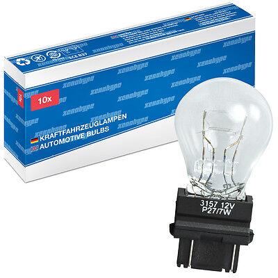 10x P27/7w Xenohype Premium W2, 5x16q 12 Volt 27/7 Watt Us Tipo 3157-