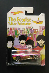 HOT-WHEELS-THE-BEATLES-YELLOW-SUBMARINE-VOITURE-5-6-MATTEL-R-5112