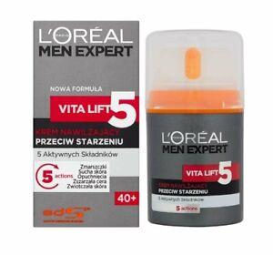 LOREAL MEN EXPERT VITA LIFT 5 ANTI AGE FEUCHTIGKEITSCREME..