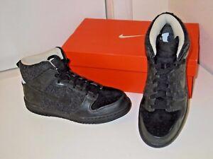 timeless design 5bd46 2044e Image is loading Nike-Dunk-Hi-High-Supreme-Spark-Black-Basketball-
