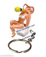Porte-clés ORANGINA figurine pin'up La PIEUVRE publicité animaux keychain figure