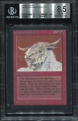 MTG Magic The Gathering Hurloon Minotaur  Beta HP