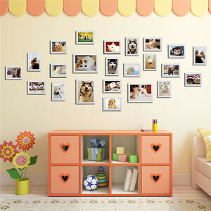 Wall Hanging Photo Frame Set Family Picture Modern Art Home Decor