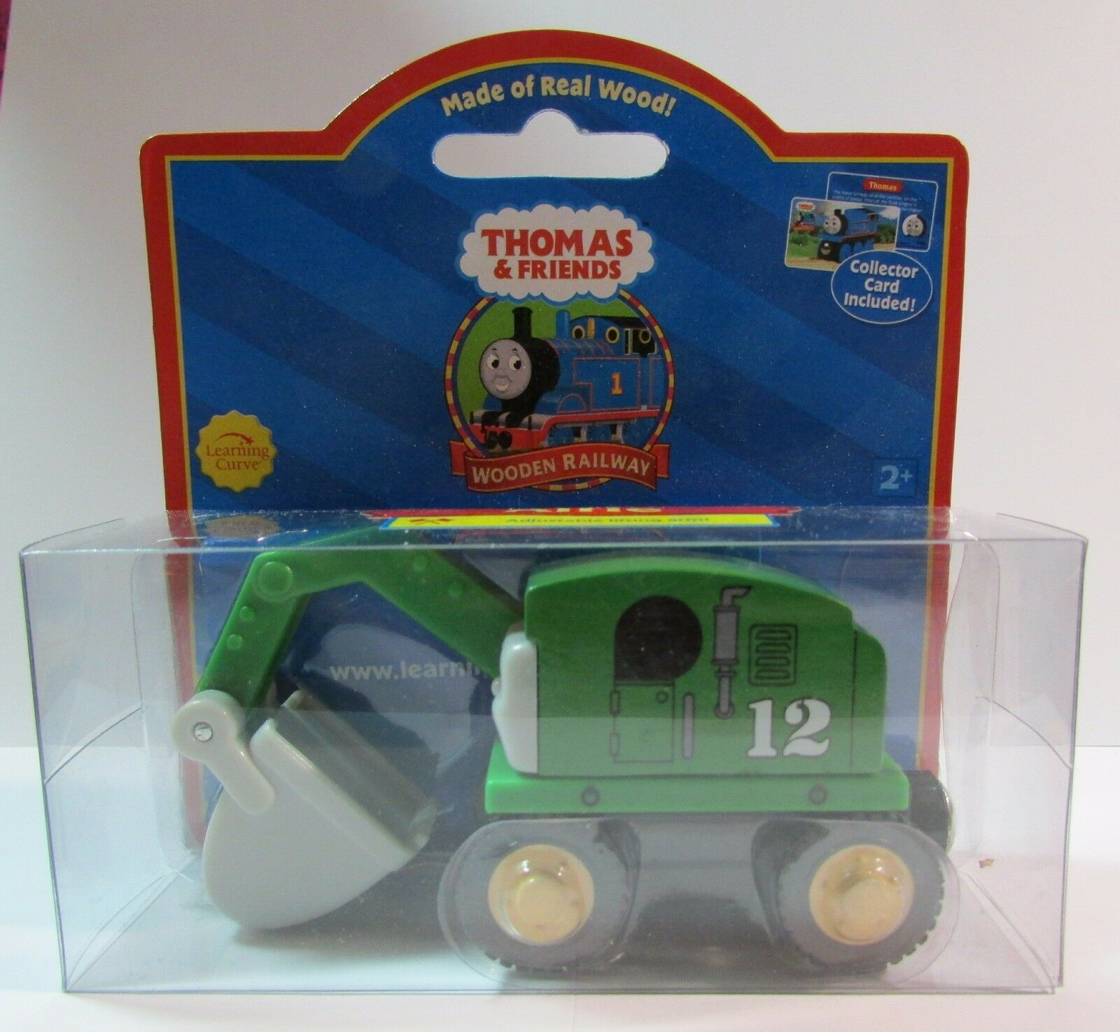 THOMAS THE TANK & FRIENDS-WOOD ALFIE W/COLLECTOR CARD ROT LABEL 2003 NEW BOX