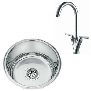One Bowl Stainless Steel Kitchen Sinks One bowl stainless steel undermount kitchen sink chrome mixer tap image is loading one bowl stainless steel undermount kitchen sink amp workwithnaturefo