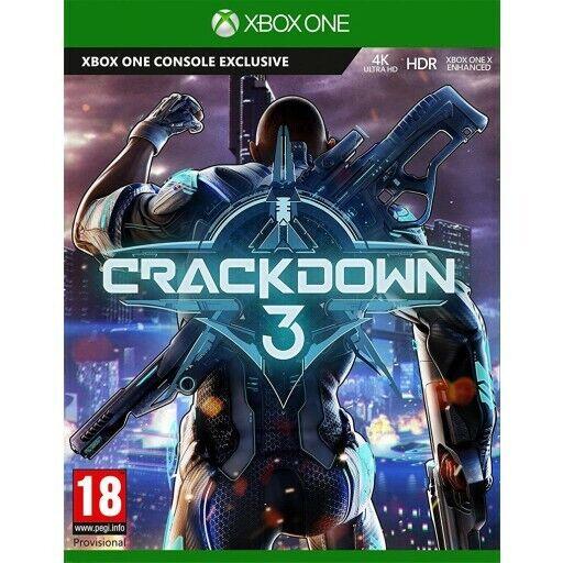 crackdown 3 & agents of mayhem xbox one new&sealed