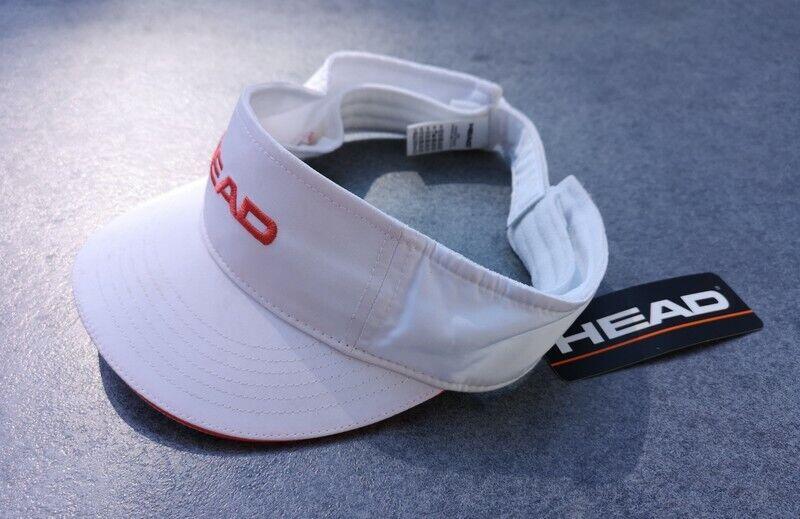 Basecap von HEAD Cap verstellbare Schirm - Kappe Klettverschluß Mütze Hut Tennis