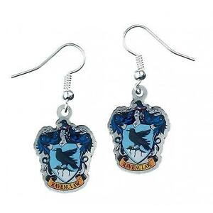 New-Official-Genuine-Harry-Potter-Silver-Plated-Ravenclaw-Earrings