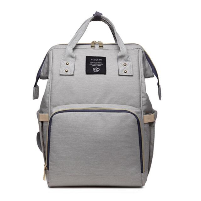 84718d4b86b8c UK Yummy Mummy Changing Bag Maternity Nappy Diaper Travel Backpack ...