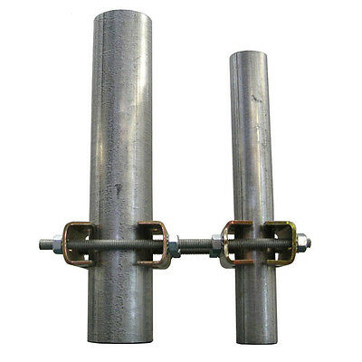 """Pole to Pole Mount EZ HD-PTP-8L 1.75/"""" 3.75/"""" OD Heavy Duty Mast to Mast Bracket"""