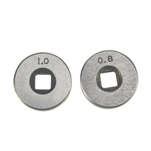 2* Mig Welder Wire Feed Drive Roller Roll Parts 0.6-0.8/&0.8-1.0 Kunrled-Groove
