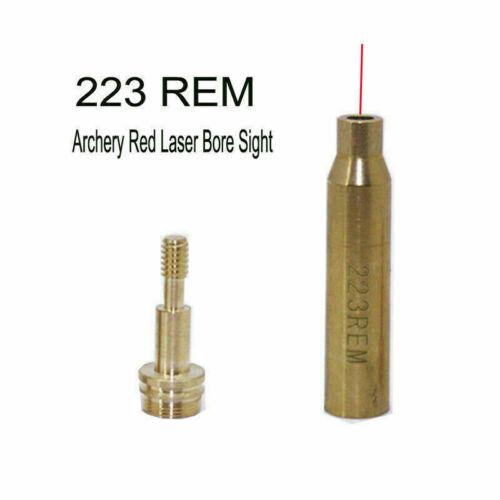 RGB Hunt Archery Red Laser Sighting Tool Bow Arrow Sight Bore Sighter Boresight