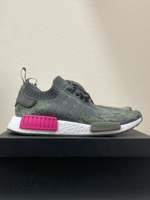 Adidas Nmd R1 Women Pink Grey White Sz 9 W Us By3059 For Sale