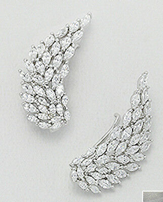 """Solid Sterling Silver Shiny Sweet Bamboo Hoop Earrings 28mm=1.1/"""" STYLISH+Quality"""