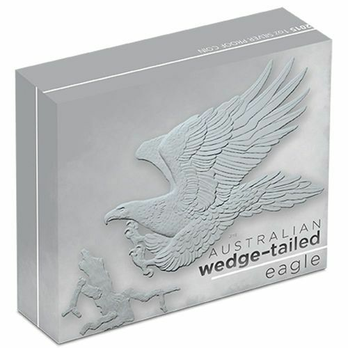 Perth Mint 2016 Australian Wedge-tailed eagle 1oz Silver Proof Coin