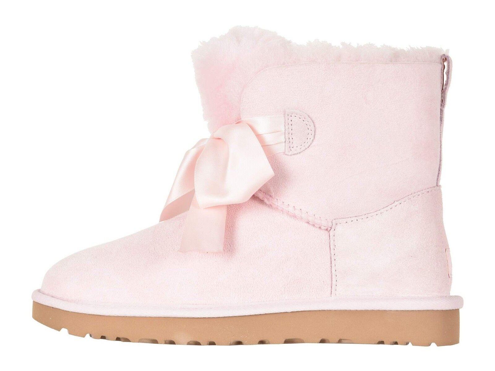 Bottes de bottes Gita Bow en peau de mouton authentiques de marque UGG authentique pour femmes