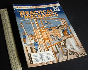 Practical Mechanics Mag. Modelling Crafts Engineering Projects Dec 1959 Vintage