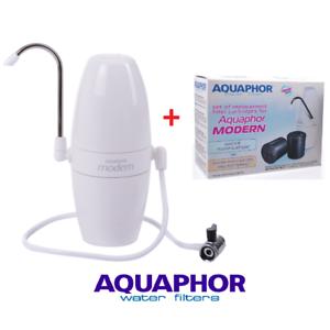 Aquaphor Moderne robinet d'eau potable Filtre 4000 L + 1 ensemble de cartouches  </span>