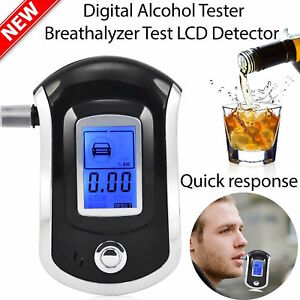 LCD-Digital-police-breath-breathalyzer-test-alcohol-analyser-detector-AT6000-NYP
