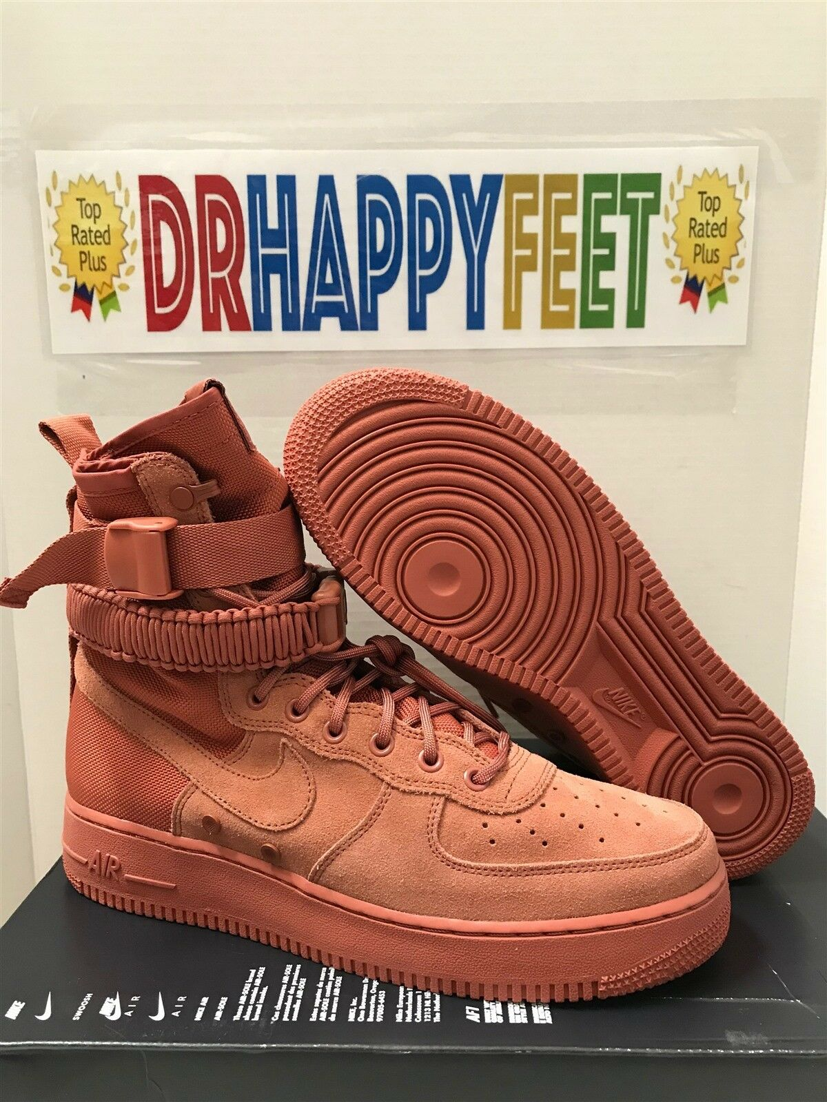 Nike Men's SF AF1 Special Field Air Force 1 Sizes Dusty Peach Shoes 864024 204