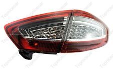 Outer & Inner Tail Lights Rear Lamps RH Passenger Side for Ford Mondeo 2011-2012