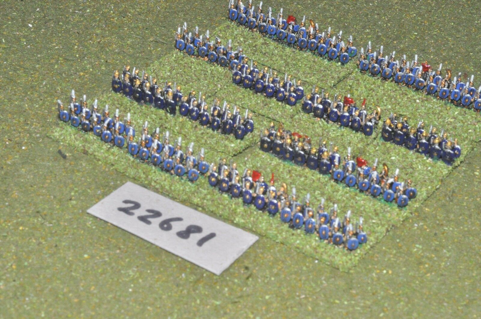 6mm Roman Era   roman - early legionaries 190 figures - inf (22681)