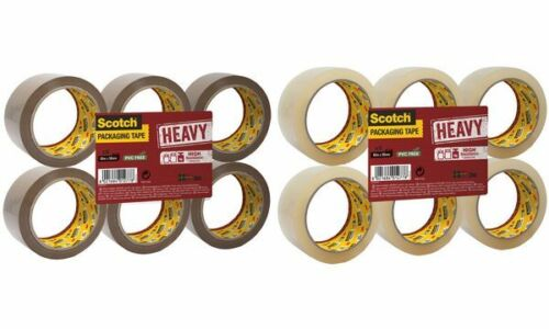 3M Scotch Verpackungsklebeband HEAVY 50 mm x 66 m braun