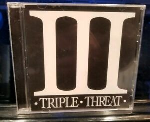 Triple Threat - Sampler CD SEALED Twiztid & Blaze Ya Dead insane clown posse mne