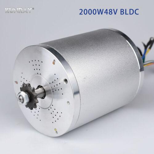Elektrofahrräder KUNRAY MY1020 48V DC 2000W Electric Brushless Motor 5400RPM Electric Scooter E-B