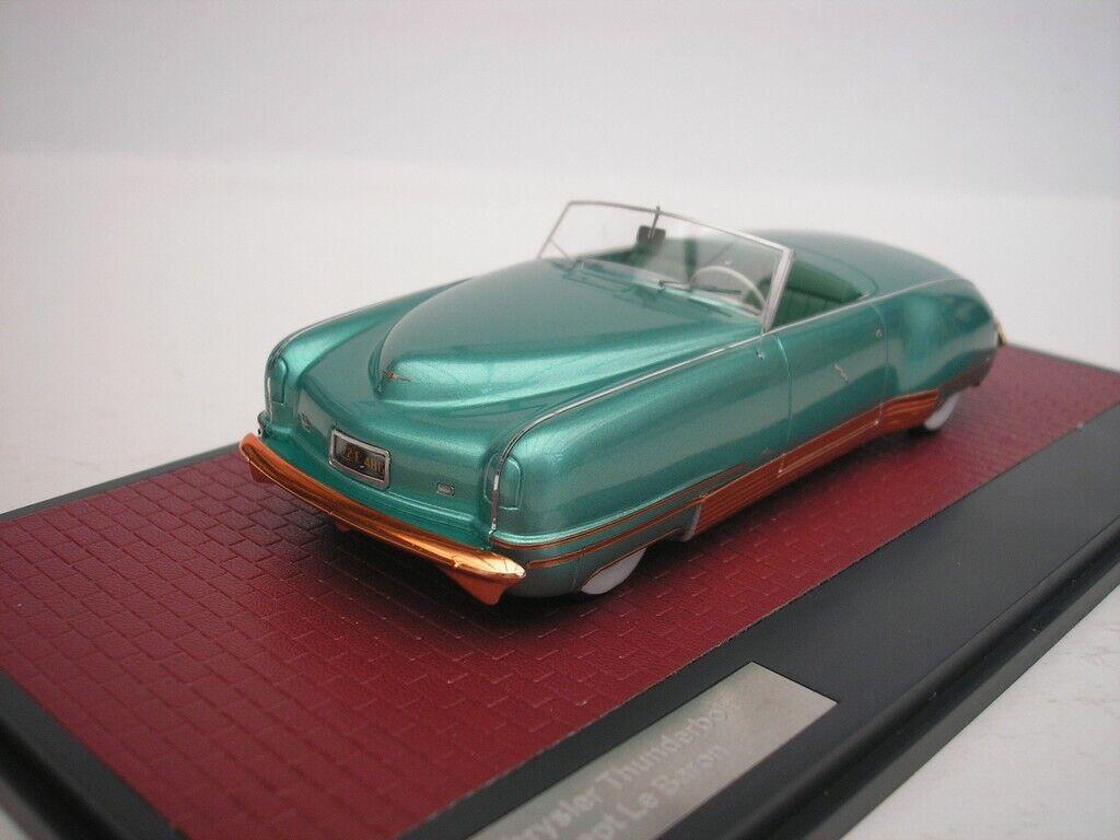 Chrysler Le Canardeur Concept le Baron 1941 vert 1 43 Matrix mx20303-031 NEUF