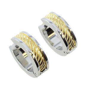 edeba259a775b Rochet Roma Elegant Stainless Steel Gold Plated Twist Cord Design ...