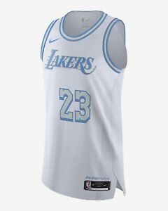 Details about Nike Lakers Lebron James Lore Jersey Sz. 40
