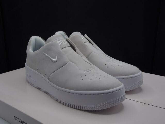10 Women's Nike Air Force 1 Af1 Sage XX off White Ao1215 100 Casual Upstep