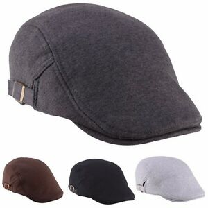 Casual-Men-Women-Duckbill-Ivy-Cap-Golf-Driving-Flat-Cabbie-Newsboy-Beret-Hat