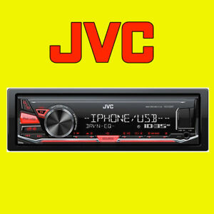 JVC-Digital-Media-Receiver-Car-MP3-FLAC-Radio-Stereo-Aux-USB-for-iPod-iPhone