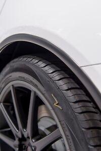 """MATTE BLACK WHEEL WELL Moldings Universal TRIM Mouldings 1/"""" Wide 20 Foot Roll"""