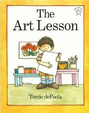 The Art Lesson by Tomie dePaola (2001, Paperback)