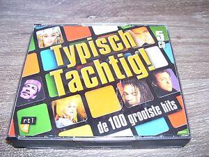 Typisch Tachtig ! - De 100 Grootste Hits Eighties * 5 CD BOX HOLLAND RARE 2001 *