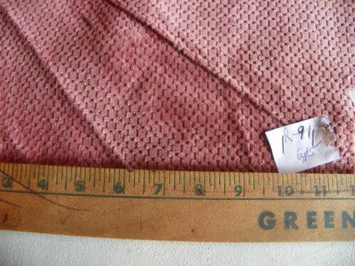 Dark Pink Chenille Fabric Upholstery Fabric  1 Yard  R91