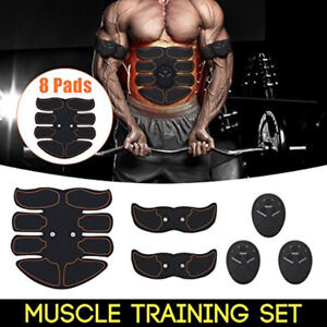 Muscle Toner, Abdominal Toning Belt, EMS ABS Trainer Wireless Body Gym Workout